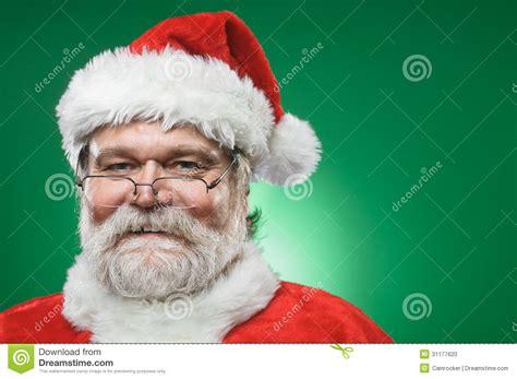 happy santa claus portrait stock photo image 31177620