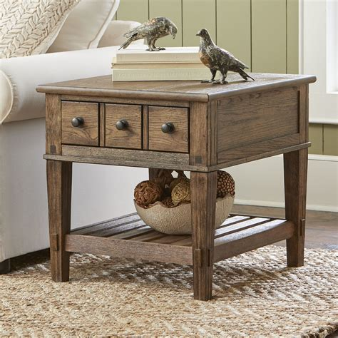 wayfair end tables with drawers birch derrickson side table with drawers reviews