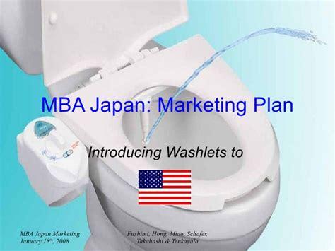 Net After Mba Marketing by Washlet Marketing Plan