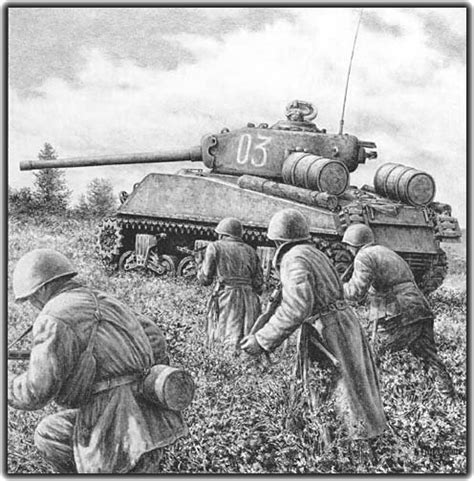libro soviet lend lease tanks of a u s lend lease sherman tank in the service of the soviet army during their offensive against