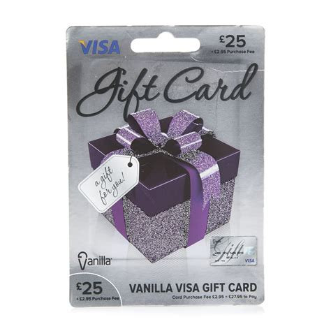 Visa Gift Card Locations - vanilla visa card 163 25 gift card at wilko com
