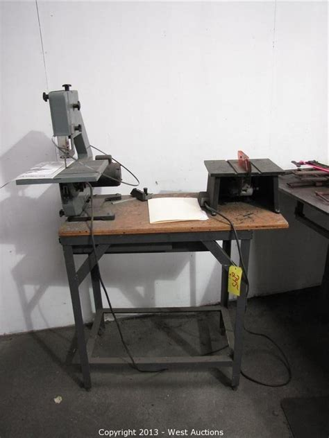 delta 10 inch bench saw west auctions auction complete sellout of bay area