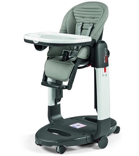 Perego High Chair by Peg Perego Tatamia 3 In 1 Highchair In Stripes Grey