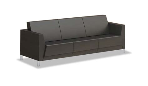 Office Sofa by Shop Three Seater Office Sofa In Pu Leather S