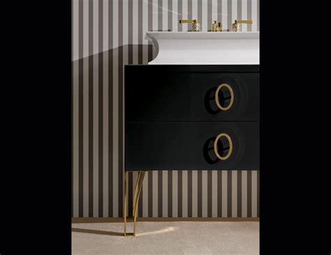 daphne d11 high end italian bathroom furniture in black