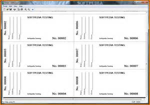 raffle ticket printing template raffle cards templates