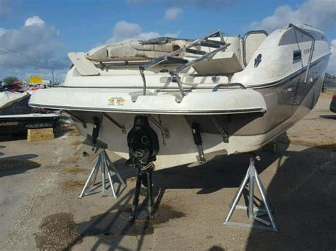 boat salvage yard houston tx 2005 crownline boat for sale at copart houston tx lot
