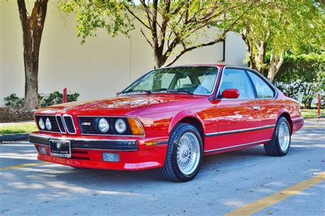 1988 bmw m6 series find used 1988 bmw m6 m series 6 series e24 in sarasota