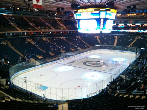 msg section 220 madison square garden hockey best idea garden