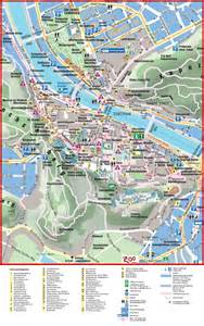 map of city salzburg city center map