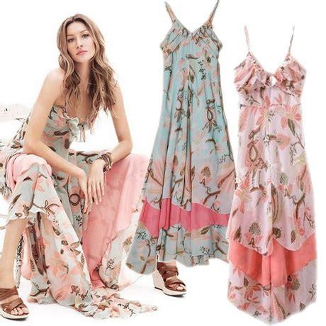 Pleated Dress Maroko bohemian maxi jurk
