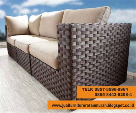 Sofa Murah Di Semarang jual jual sofa rotan sintetis semarang murah jakarta
