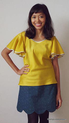 Blouse Novita taffy blouse meringue skirt from colette sewing handbook flickr
