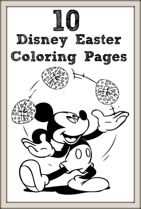 printable disney easter coloring pages top 10 free printable disney easter coloring pages online