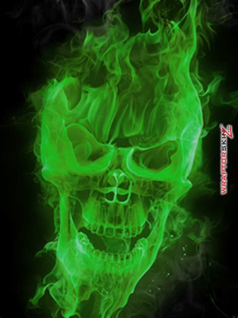 skull fire wallpaper wallpapersafari