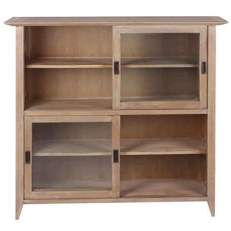 mobili libreria mobile libreria legno naturale librerie etniche outlet