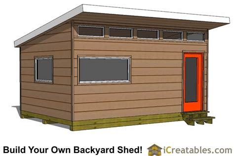 modern studio plans modern shed plans modern diy office studio shed designs