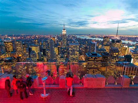 top of the rock bar nyc new york skyline travel 365 national geographic