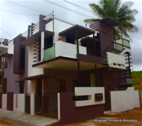house designs bangalore front elevation  ashwin