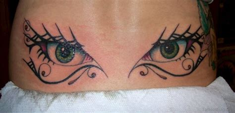 tattoo back eyes 60 glossy spine tattoos for back