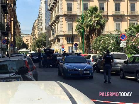 consolato tunisino palermo trolley sospetto vicino al consolato tunisino allarme