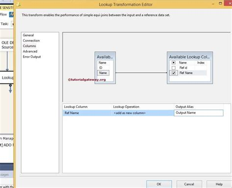 tableau lookup tutorial ssis lookup transformation case sensitivity 6