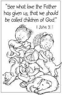 child of god coloring page christian easter crafts and coloring pages