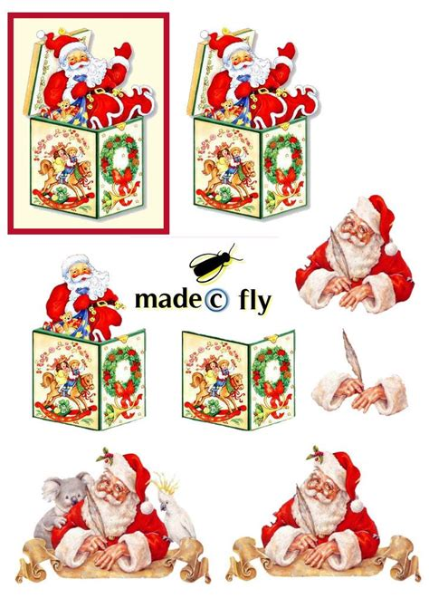 decoupage cards ideas 713 best knipvel kerst images on 3d cards