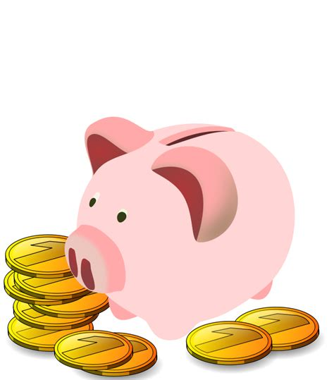 Piggy Bank Clipart Free free to use domain piggy bank clip