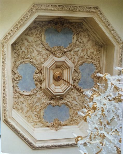 Plaster Ceiling Finishes by Evinczik Designed And Installed Compo To Fit An