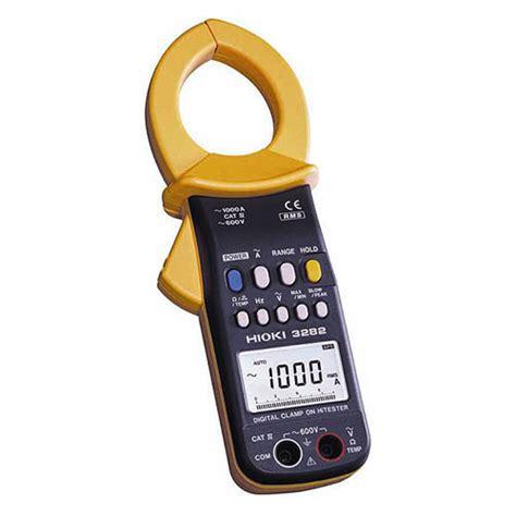 Meter Hioki Hioki 3282 True Rms Ac Digital Cl Meter 600v 1000a