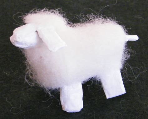 How To Make Paper Sheep - how to make sheep discovering sunday school