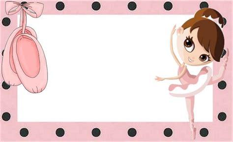 Imágenes y marcos para fotos de niñas bailarinas