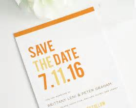 Classic Wedding Programs Modern Stack Save The Date Cards Save The Date Cards By Shine