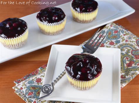 Pie Cheese Blueberry Mini mini lemon blueberry cheesecakes for the of cooking