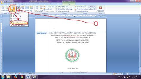 membuat halaman berbeda pada ms word cara membuat halaman dengan format berbeda pada ms word