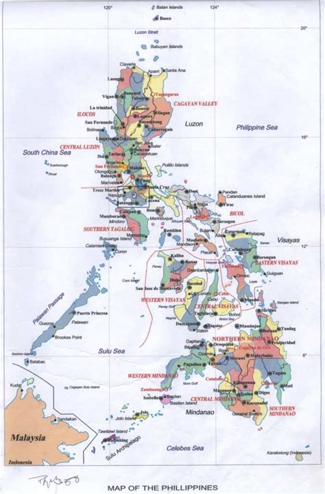 clup maps municipal government  calatagan