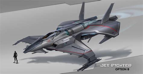 jet design artstation ships design chong