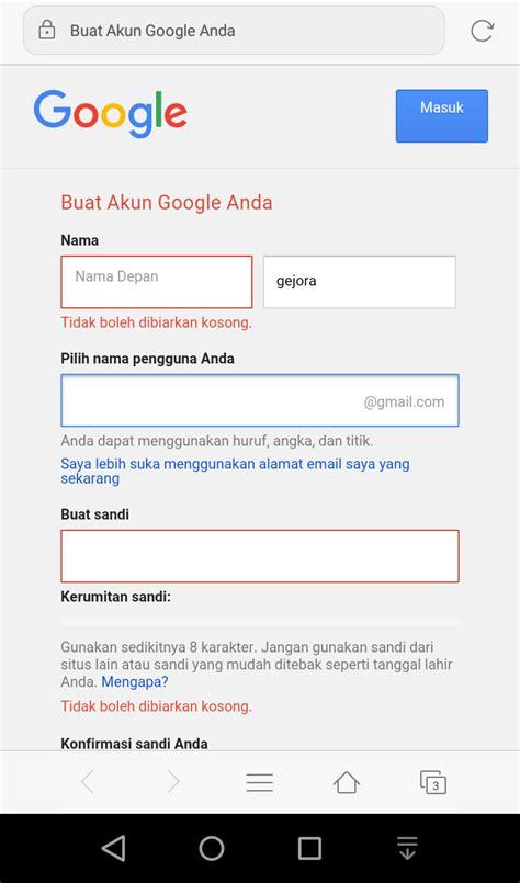 tidak bisa membuat email google raflinews com cara membuat akun email gmail google paling
