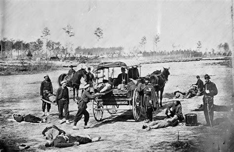 In The Civil War civil war battlefield medicine