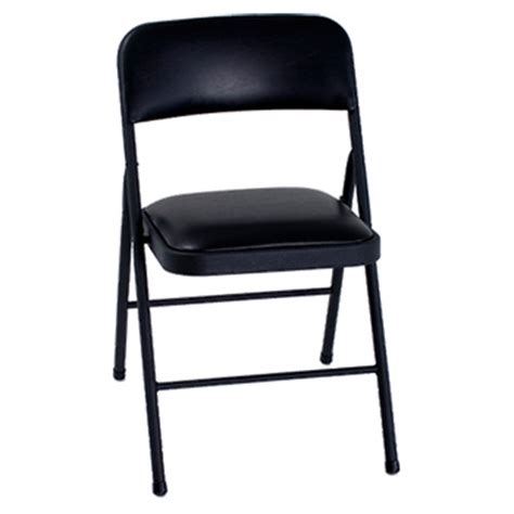 costco black vinyl padded folding chairs cosco home and office plastic vinyl folding chair set of