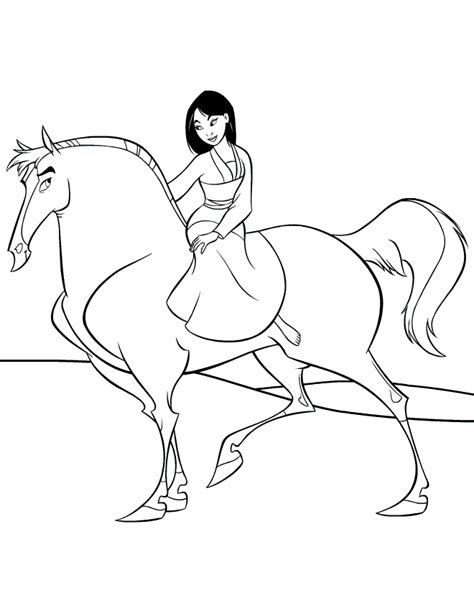 mulan coloring pages fantasy coloring pages