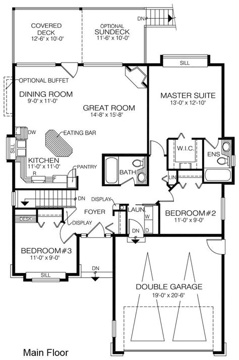 carson mansion floor plan 119 best images about houseplans 3 bedroom on car garage bath and pantry