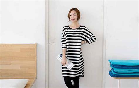 Dress Simple Wanita Lengan Panjang baju wanita simple lengan panjang myrosefashion
