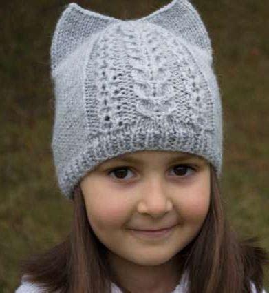 knit kid hat pattern ear kid s hat pattern allfreeknitting