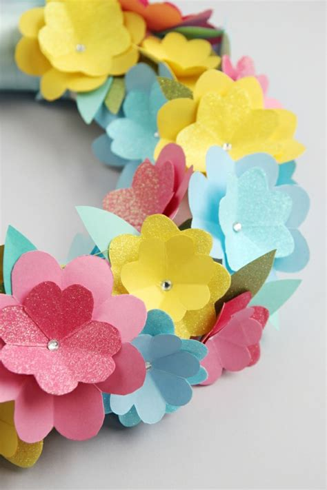 Basteln Mit Papier Blumen by Blumen Selber Basteln 55 Ideen F 252 R Kinder Und Erwachsene
