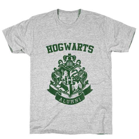 T Shirt Kaos Hogwarts Alumni hogwarts alumni slytherin t shirt lookhuman
