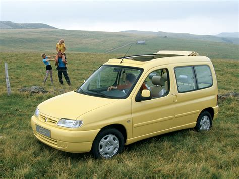 old citroen citro 235 n berlingo grand large concept 1996 old concept cars