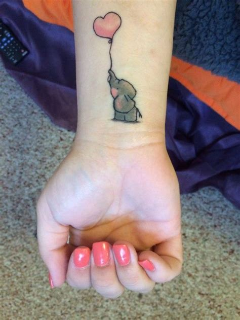 elephant balloon tattoo the powerful meaning of elephant tattoos 171 tattoo articles