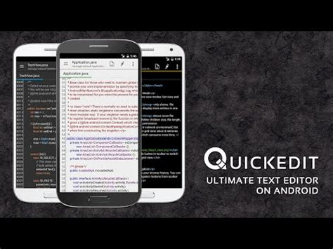 text editor for android quickedit text editor pro apk for android aptoide